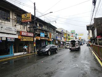 Sariaya - General Luna Street, the center of trade and  commerce in Sariaya