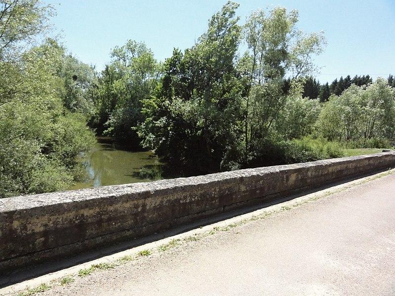 Saucourt, Pont du Rognon, parapet