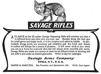 Savage Arms - Savage Arms Company - Rifles - Utica, New York - 1904
