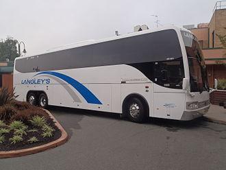 Scania K-series - Langley's Coaches, Dubbo Coach Design bodied K480EB