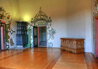 Wilhelmsburg Castle -  One of the many indoor spaces
