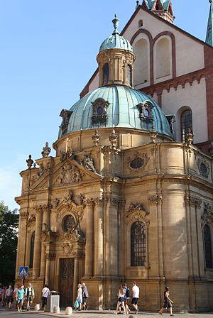 Friedrich Karl von Schönborn - Schönbornkapelle of Würzburg Cathedral