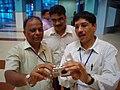 Science Career Ladder Workshop Participants Visiting Science City - Indo-US Exchange Programme - Kolkata 2008-09-17 01288.JPG