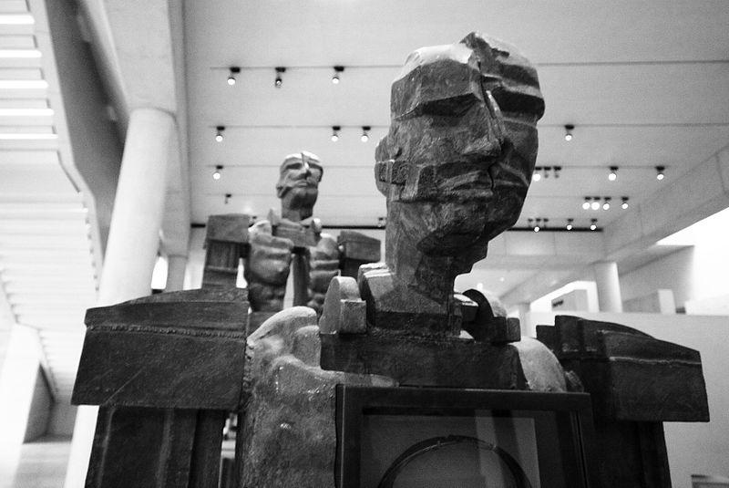File:Sculpture in National Museum of Scotland by Paolozzi.jpg
