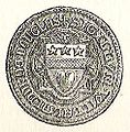 Seal of William Lord of Douglas 1332.jpg
