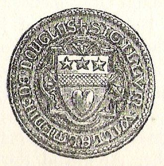 William IV, Lord of Douglas - Seal of William, Lord of Douglas