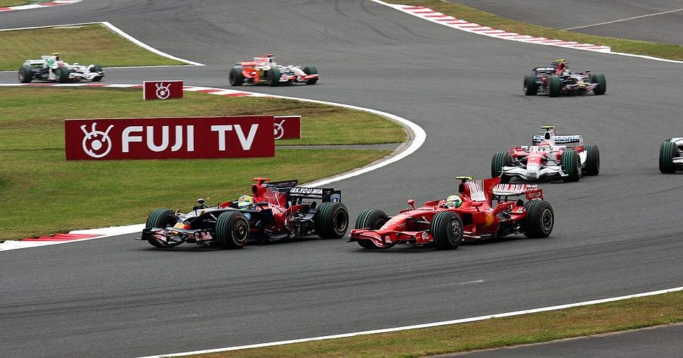 Sebastien Bourdais and Felipe Massa 2008 Japan