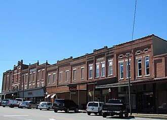 Sebree, Kentucky - Business district of Sebree