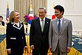 Secretary Clinton With Korean Foreign Minister Kim and Japanese Foreign Minister Gemba (7557303538).jpg