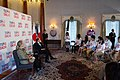 Secretary Clinton and Ambassador Roos at the Tomodachi Event (7527717304).jpg