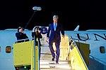 Secretary John Kerry Deplanes at Vienna International Airport (27015470986).jpg