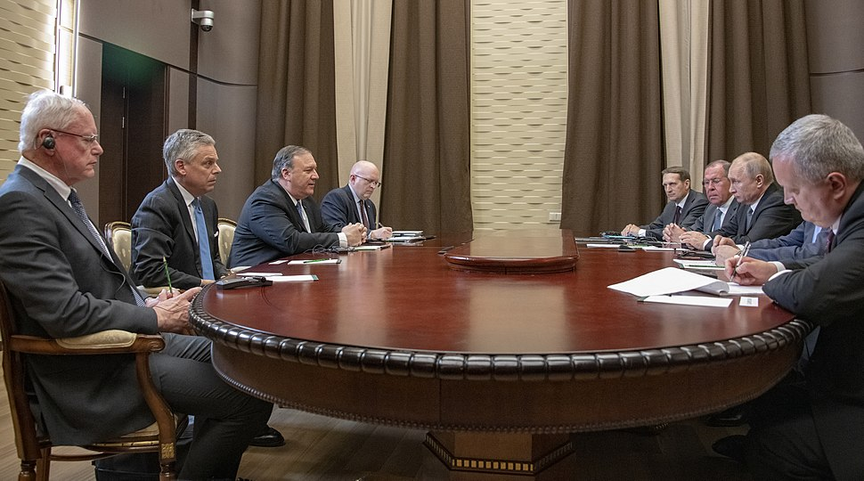 Secretary Pompeo Meets With Russian President Putin (33974455218)