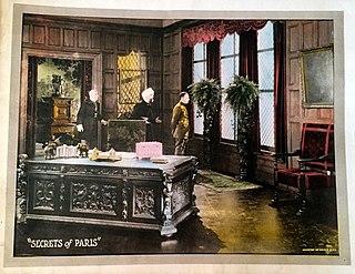 <i>The Secrets of Paris</i> 1922 film