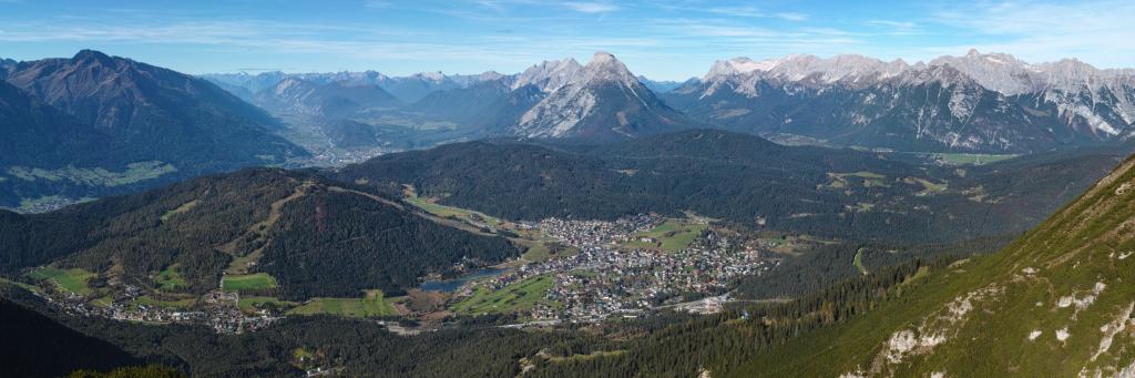 Seefeld in Tirol Austria from ESE on 2014-10-18
