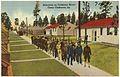 Selectees on Company Street, Camp Claiborne, La. (8185136325).jpg