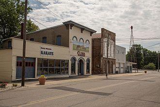 Selma, Indiana - Main street