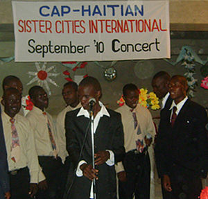 English: Sept Concert in Haiti