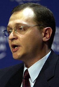 Sergei Kirienko - World Economic Forum Annual Meeting Davos 2000 (cropped).jpg