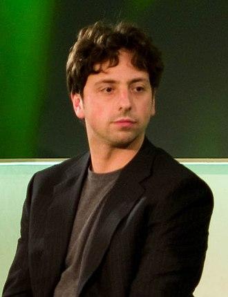 Sergey Brin - Sergey Brin in 2008