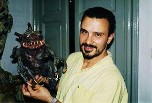 The Wax Mask - Director Sergio Stivaletti in 1996