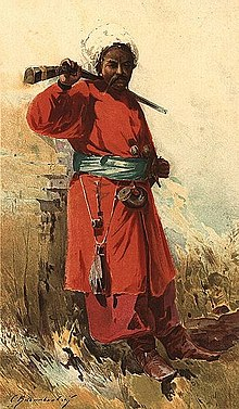 Zaporozhian cossack 17th 18th century traditional clothing