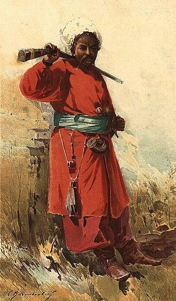 Sergiy Vasylkivskiy- Cossack