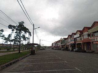 Seri Iskandar human settlement in Malaysia