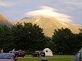 Sgurr a' Mhaim from Glen Nevis Camp Site - geograph.org.uk - 504833.jpg