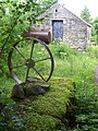 Shed and cart wheel - geograph.org.uk - 888765.jpg