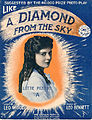 Sheet music cover - LIKE A DIAMOND FROM THE SKY (1915).jpg