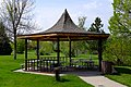 Shelter 6 picnic shelter at Cam-Plex Park in Campbell County, Wyoming.jpg