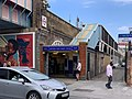 Shepherd's Bush Market station entrance 2 2020.jpg