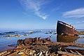 Shipwreck Fortuna in Fårö, Gotland, Sweden in 2010.jpg