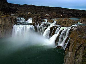 Cecil Andrus - The Snake River's Shoshone Falls near Twin Falls, Idaho