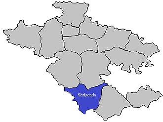 Shrigonda taluka - Image: Shrigonda Tehsil in Ahmednagar District