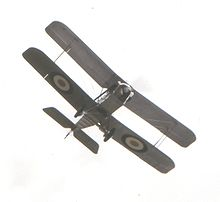 A surviving SE5a, such as Harrison flew, in flight. Shuttleworth SE5a01.jpg