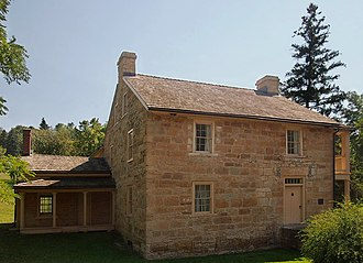 Sibley Historic Site - Sibley's House at St. Peter, now Mendota