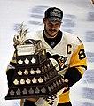 Sidney Crosby with Conn Smythe Trophy 2017-06-11 2.jpg