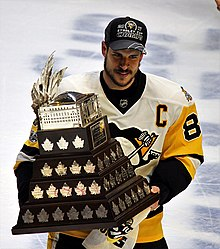 2f2190249 Crosby won his second straight Conn Smythe Trophy in 2017.