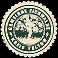 Siegelmarke Gemeinde Eichwalde - Kreis Teltow W0213088.jpg