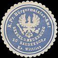 Siegelmarke K.Pr. Bürgermeister-Amt Bengel und Neuerburg zu Bausendorf Kreis Wittlich W0382474.jpg