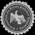 Siegelmarke Kreisausschuss des Kreises Grafschaft Schaumburg W0390883.jpg