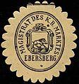 Siegelmarke Magistrat des K.Bayer. Marktes Ebersberg W0310172.jpg