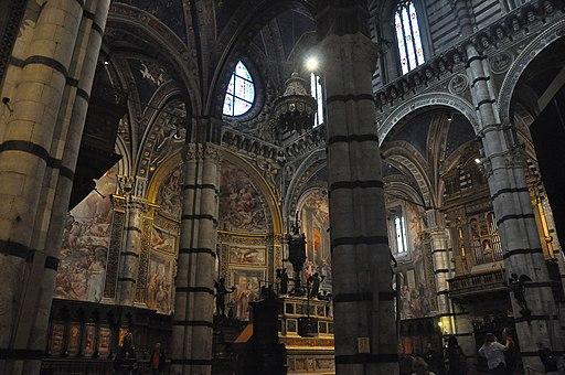 Duomo di SienaoCattedrale di Santa Maria Assunta, interiore