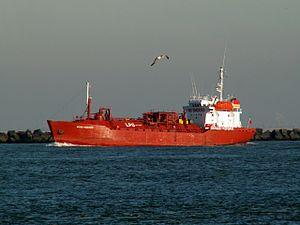 Sigas mariner p1 leaving Port of Rotterdam, Holland 23-Jan-2006.jpg