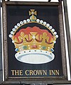 Sign for the Crown Inn, Ludgershall - geograph.org.uk - 952731.jpg