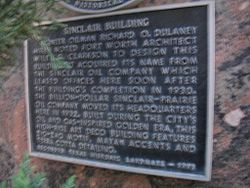 Photo of Wiley G. Clarkson and Richard O. Dulaney black plaque