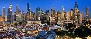 The Singapore Skyline v2