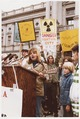 Singer. Anti-nuke rally in Harrisburg, (Pennsylvania) at the Capitol. - NARA - 540016.tif
