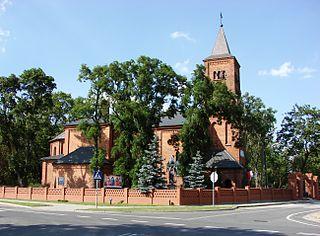 Siniarzewo Village in Kuyavian-Pomeranian, Poland